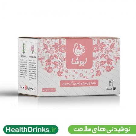 چای رزماری و گل محمدی نیوشا
