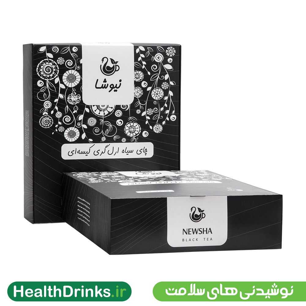 چای ارل گری کیسه ای ۱۶۰ عددی نیوشا