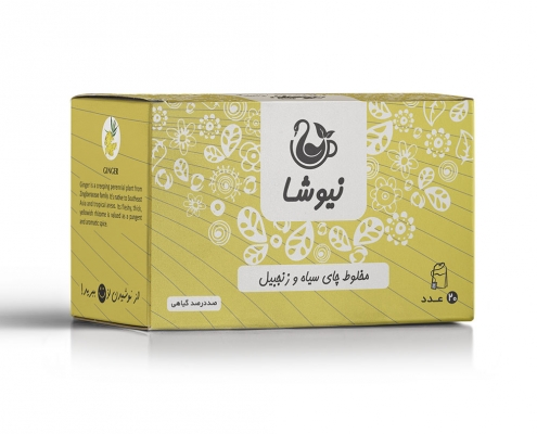 چای زنجبیل نیوشا